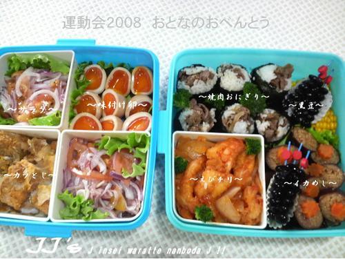 運動会のお弁当(2008)大人用